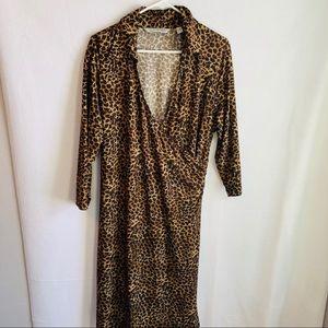Avenue Dresses - Soft by avenue leopard print dress